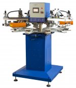 Dört Renkli Otomatik Ahtapot Baskı Makinesi