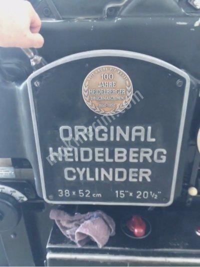 Satılık 2. El Heidelberg 38x52 Kazanlı Kesim Makinesi Çok Temiz Fiyatları Kayseri heidelberg,kazanlı kesim,38x52,kesim,kesim makinesi