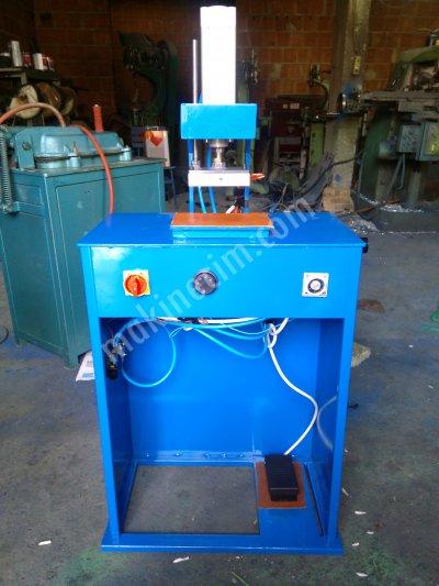 Klişe Sıcak Baskı Makinesi.