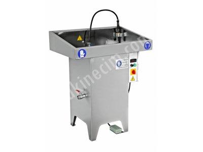 Manuel- Fırçalı- Sıcak Sulu Parça Yıkama Makinesi