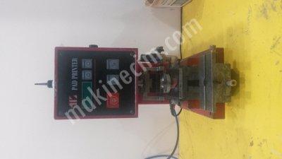 Satılık 2. El Tek Renk Tampon Baskı Makinası Fiyatları İstanbul kalem çakmak baskı makinesi,cam baski makinesi,tampon baskı makinesi,imalat ürün baskı makinesi