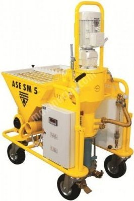 Alçı Sıva Makinesi Ase Sm 5