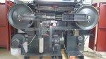 Deri Yarma Makinesi Makinası Makina Camoga C 520L Makina 52 Cm'dir..