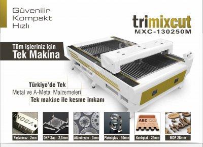 Pleksi, Ahşap Ve Metal Lazer Kesim Makinası