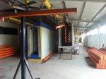 Eletrostatik Powder Paint System Conveyor Avec 2 Manuel Gun And Sprey Cabin