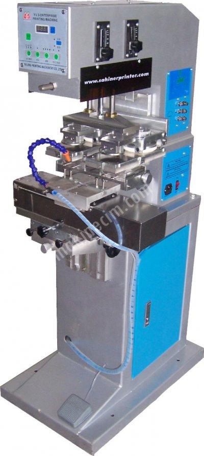 Yyc 300-130 Kapalı Hazne 13Cm Tampon Baskı Makinesi