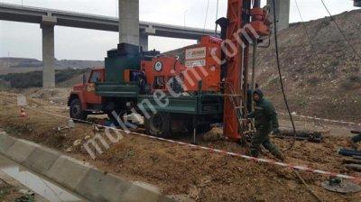 Satılık İkinci El Md 300 Tam Hidrolik Sondaj Makinası Fiyatları Ankara sondaj makinası,çamur pompası,hidrolik sondaj makinası,zemin etüd,zemin etüd makinası
