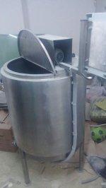 200 Lt'lik Süt Pişirme Kazanı