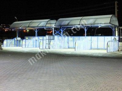 Satılık Sıfır Kırşehir Kaman 4 Peronlu Hilal Çatı Fiyatları Konya kırşehir kaman self yıkama hilal çatı sistemleri krontriksiyon çelik çatı kompresör self servis yıkama sistemleri