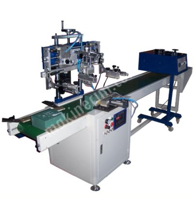 Yls 350 Zd Serigrafi Baskı Makinesi