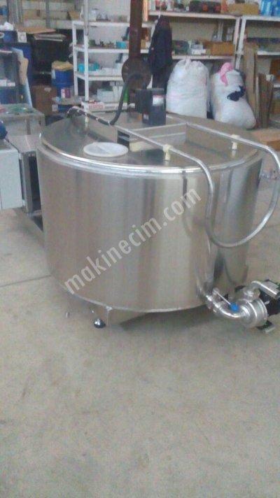 Süt Soğutma Ve Depolama Tankı  - 1000 Lt - Peşin - Kdv Hariç