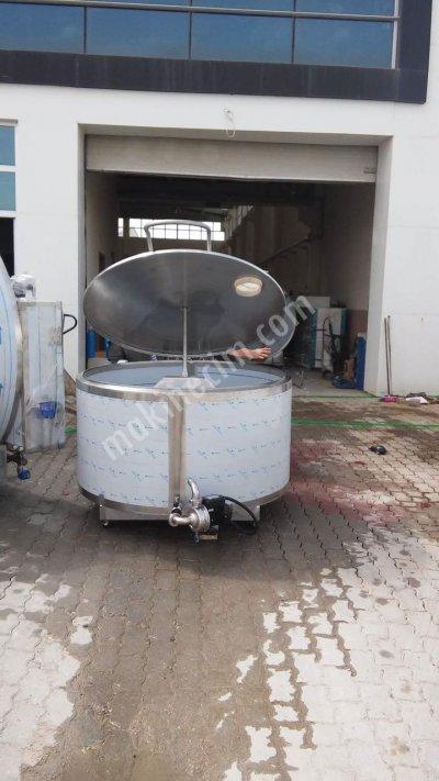 Süt Soğutma Ve Depolama Tankı - 1500 Lt - Peşin - Kdv Dahil
