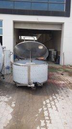 Süt Soğutma Ve Depolama Tankı - 1500 Lt - Peşin - Kdv Hariç
