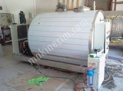 Süt Soğutma Ve Depolama Tankı  - 6000 Lt - Peşin - Kdv Harıc