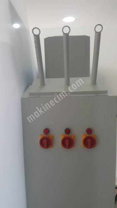3 Çubuklu Buhar Makinası