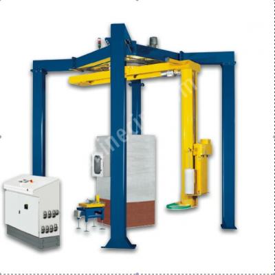 Satılık Sıfır Strec Sarma Makinesi Fiyatları Konya palet sarma strec sarma ambalaj sarma makinesi