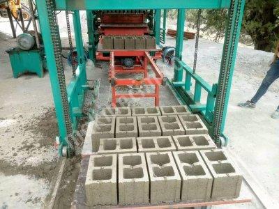 Briket Beton Parke Makinası 42 Full Otomatik Namtaş