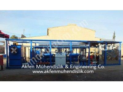 Mobile Ham Petrol Rafinerisi / Taşınabilir Ham Petrol Rafineri / Ham Petrol Rafinersi