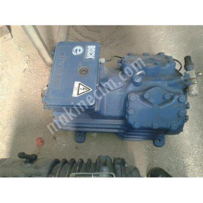 Satılık İkinci El Bock Hgx34e/380 4s Yarı Hermetik Kompresör 10hp Fiyatları Kayseri Bock HGX34e/380 4S