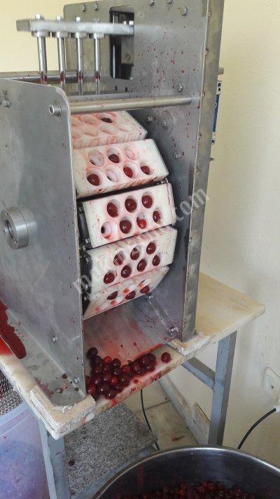 Satılık Sıfır Vişne Çekirdeği Çıkarma Makinası 50/80kg. Fiyatları Aydın Vişne çekirdeği çıkarma makinası