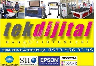 Dijital Baskı Makinaları Servis Ve Yedek Parça