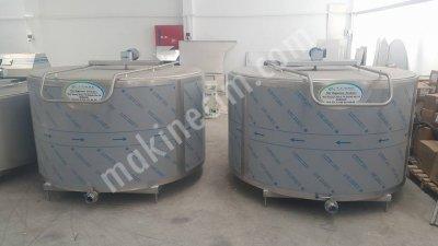 Satılık Sıfır 2000 Lt Kapasiteli Dikey Süt Soğutma Tankı Fiyatları Denizli cemre