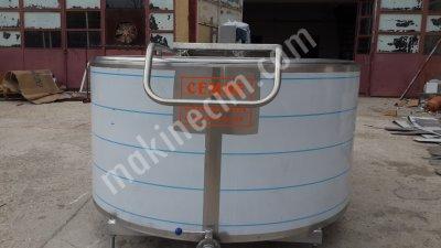 Satılık Sıfır 1000 Lt Kapasiteli Süt Soğutma Tankı Dijital Tartım Sistemli Fiyatları Burdur cemre