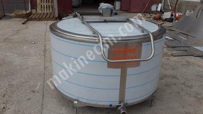 Satılık Sıfır 1500 Lt  Kapasiteli Süt Soğutma Tankı Fiyatları Burdur CEMRE