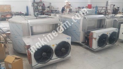Satılık Sıfır 500 Lt Kapasiteli Süt Soğutma Tankı Fiyatları Denizli cemre