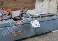 Pnömatik Çift Baş Gönye Burun Makinesi(Alüminyuma Uyumlu