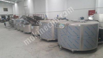Satılık Sıfır Sut Sogutma Tankları- 300kg Dan 10 Tona Kadar. Fiyatları İzmir cemre