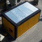 Eletrostatik Powder Plant Box Tipo Forno