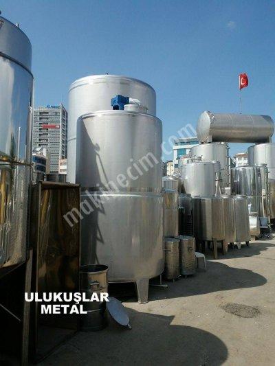 Satılık Sıfır Paslanmaz 10 Tonluk Sıvı Ve Yogun Mazeme Karıstırıcı Isıtmalı Fiyatları İstanbul Reaktör.mikser,karıstırıcı,karıstırıcı kazan ,paslanmaz mikser,paslanmaz karıstırıcı mikser,tutkal,silikon,yag,  , krom karıstırıcı