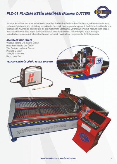 Plazma Kesim Makinası