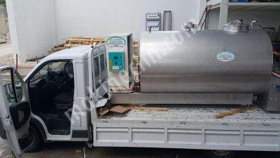 Satılık Sıfır Sut Sogutma Tankı-cemre Sogutma*dan 3 Ton Kapasiteli otomatik yıkamalı Fiyatları Denizli cemresogutma