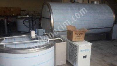 Satılık Sıfır Dondurma Sutu Sogutma Tankı- 1tonluk Fiyatları Denizli cemre