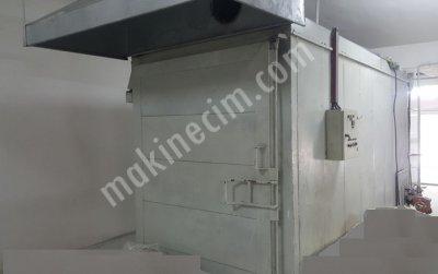 Satılık 2. El Elektro Statik Toz Boya Fırını ; Fiyatları Konya Elektro Statik Toz Boya pişirme Fırını ;200 derece
