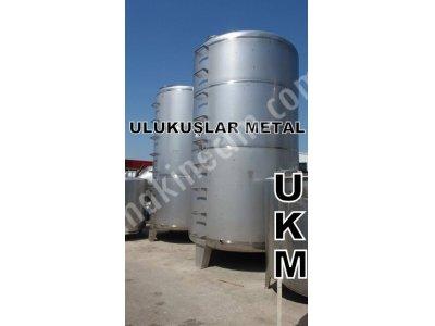 Paslanmaz Krom Çelik Depolama Tankları 10- 20 -30 -40 -50 Tonluk Depolar