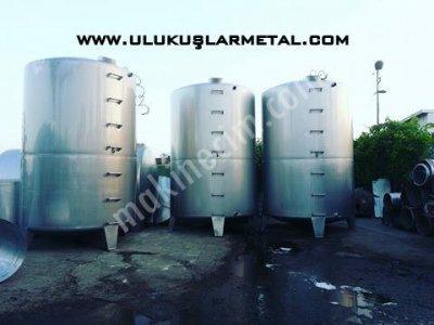 Paslanmaz Su Süt Yag Bal Reçel Pekmez Tahin Tankları Glikoz Seker Sirke Depolama Tankları