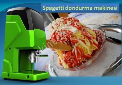 Spagetti Dondurma Makinesi