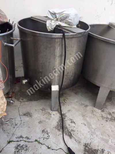 500 Kglık Süt Karıştırma Tankı