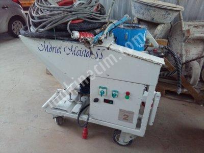 Km Alçı Sıva Makinesi