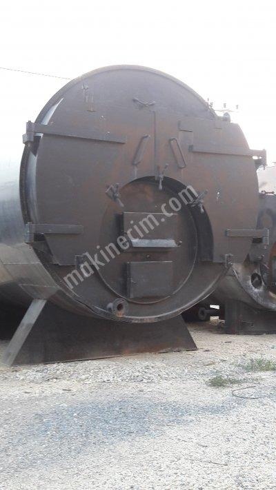 Satılık 2. El Kömürlü Buhar Kazanı Fiyatları  kömür b.uhar  kazan   .tank kömür kazanı
