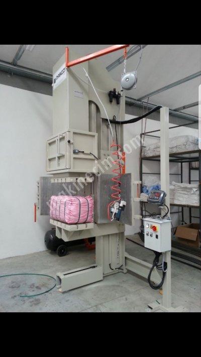 Satılık 2. El Cuval Paketleme Presi Fiyatları Mersin tekstil cuval paketleme