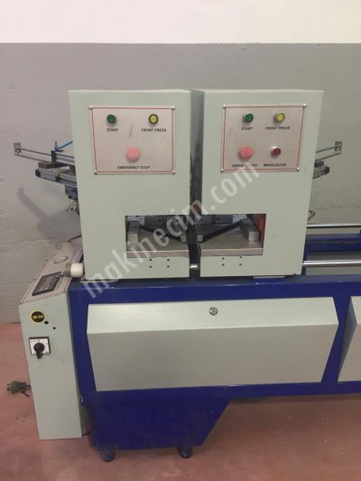 Satılık 2. El Çift Köşe Pvc Kaynak Makinası Teknik Makinadan Fiyatları Bursa pvc makinaları ikinci el pvc doğrama makinaları teknik makina pvc işleme makinaları