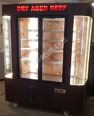 Dry Age Cooler Rounded Showcase