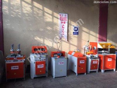 Satılık İkinci El tam Takım Pvc İşleme Makinaları Fiyatları İstanbul pvc makinaları ikinci el pvc doğrama makinaları teknik makina pvc işleme makinaları