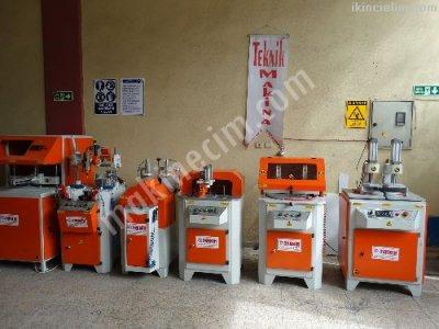 Satılık 2. El Teknik Makinadan Full Otomatik Pvc Makinaları Fiyatları İstanbul pvc makinaları ikinci el pvc doğrama makinaları teknik makina pvc işleme makinaları