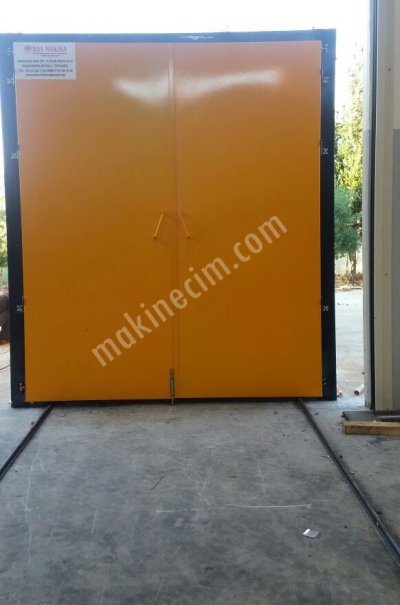 Eletrostatik Powder Plant Box Type Four 6 X 2,5 X 3 M