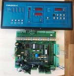 Climaveneta Cvm 2000-C Control Display Ve Anakartı